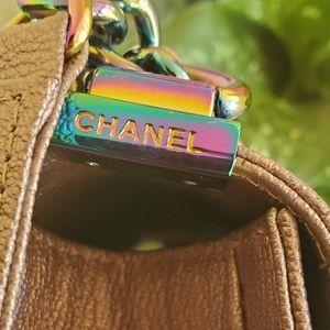 CHANEL Bags - Chanel Rainbow old Medium Pink Iridescent Boy Bag
